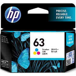 HP 63 Tri-Colour (F6U61AA) (Genuine)