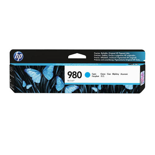 HP 980 Cyan (D8J07A) (Genuine)