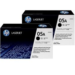 HP 05A 2 Pack Bundle (CE505A) (Genuine)