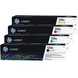 HP 130A 4 Pack Bundle (CF350A-3A) (Genuine)