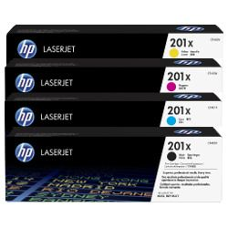 HP 201X 4 Pack Bundle (CF400X-CF403X) (Genuine)
