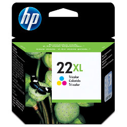 HP 22XL Colour High Yield (C9352CA) (Genuine)