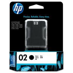 HP 02 2 Pack Bundle (Genuine)