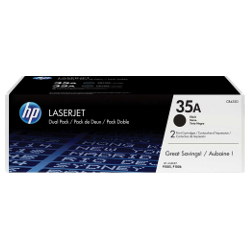 HP 35A 2 Pack Bundle (Genuine)