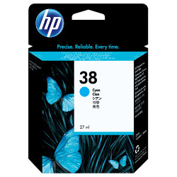 HP 38 Photo Cyan (C9415A) (Genuine)