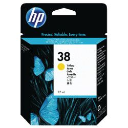 HP 38 Yellow (C9417A) (Genuine)