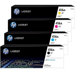 HP 416A 4 Pack Bundle (W2040A-4A) (Genuine)