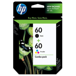 HP 60 4 Pack Bundle (CC640WA/CC643WA) (Genuine)