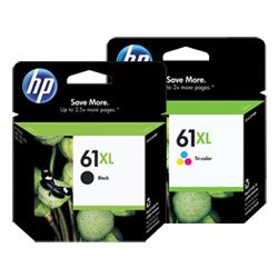 HP 61XL 4 Pack Bundle (Genuine)