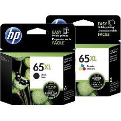 HP 65XL 2 Pack Bundle (N9K03AA-04AA) (Genuine)
