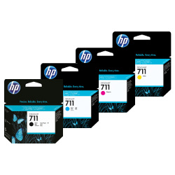 HP 711 (CF283X) 4 Pack Bundle (Genuine)