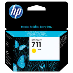 HP 711 Yellow (CZ132A) (Genuine)