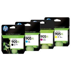 HP 905XL 8 Pack Bundle (T6M05/09/13/17AA) (Genuine)
