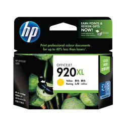 HP 920XL Yellow High Yield (CD974AA) (Genuine)