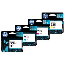 HP 934/935 4 Pack Bundle (Genuine)