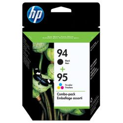 HP 94/95 (C8765WA-C8766WA) 2 Pack Bundle (Genuine)