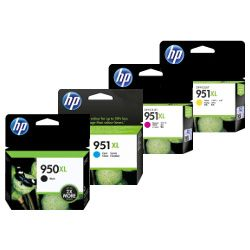 HP 950XL/951XL 8 Pack Bundle (Genuine)