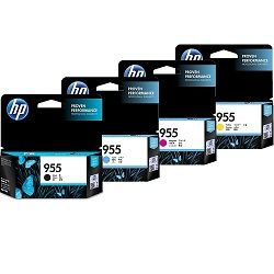 HP 955 4 Pack Bundle (L0S51/54/57/60AA) (Genuine)