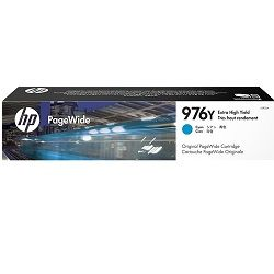 HP 976Y Cyan Extra High Yield Ink Cartridge (L0R05A) (Genuine)