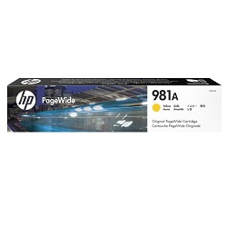 HP 981A Yellow (J3M70A) (Genuine)