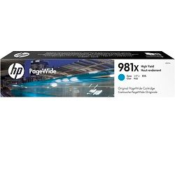 HP 981X Cyan High Yield (L0R09A) (Genuine)
