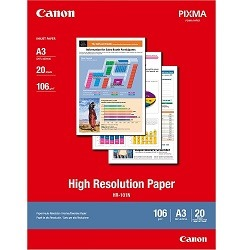 Canon HR-101NA3II White A3 Photo Paper