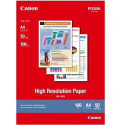 Canon HR-101NA4-50 A4 High Resolution Paper