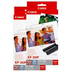 Canon KP-36IP 2 Pack Bundle (Genuine)