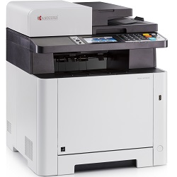 Kyocera Ecosys M5526cdw Multi Function Colour Laser Wireless Printer + Duplex