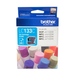 Brother LC133C Cyan (Genuine)