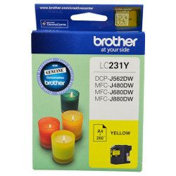 Brother LC231 Yellow (Genuine)