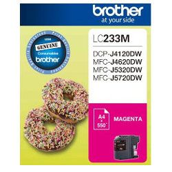 Brother LC233M Magenta (Genuine)