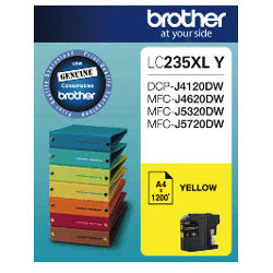 Brother LC235XL Y Yellow High Yield (Genuine)