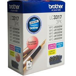 Brother LC3317 3 Pack Value Pack (Genuine)