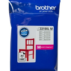 Brother LC3319XLM Magenta High Yield (Genuine)