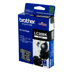 Brother LC38BK Black (Genuine)