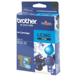 Brother LC38C Cyan (Genuine)
