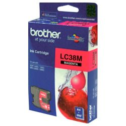 Brother LC38M Magenta (Genuine)