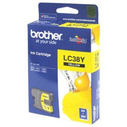 Brother LC38Y Yellow (Genuine)