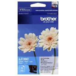 Brother LC39C Cyan (Genuine)