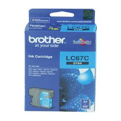 Brother LC67C Cyan (Genuine)