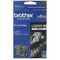 Brother LC67HY-BK Black High Yield (Genuine)