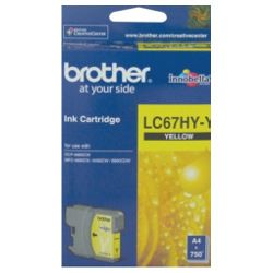 Brother LC67HY-Y Yellow High Yield (Genuine)