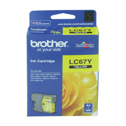 Brother LC67Y Yellow (Genuine)