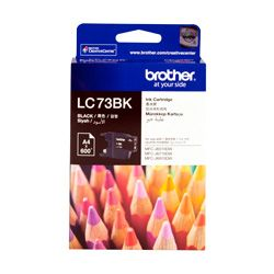 Brother LC73BK Black High Yield (Genuine)