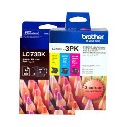 Brother LC73 8 Pack Bundle (Genuine)