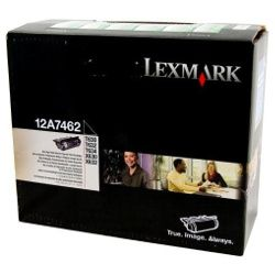 Lexmark 12A7462 Black High Yield Prebate (Genuine)