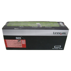 Lexmark 503 Black Prebate (50F3000) (Genuine)