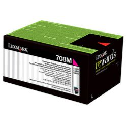 Lexmark 708X Magenta Extra High Yield Prebate (70C8XM0) (Genuine)