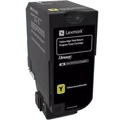 Lexmark 84C6HY0 Yellow High Yield (Genuine)